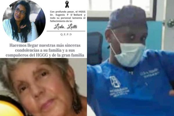 Entre los enfermeros fallecidos se encuentran el licenciado Antonio Fermín, Lotty Colmenares y Miriam Abreu