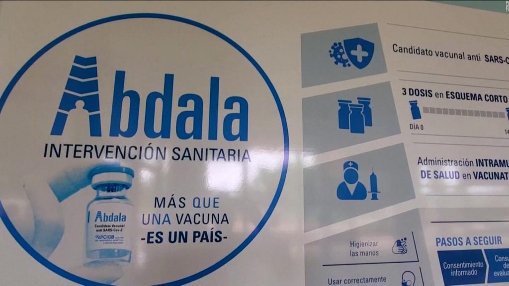 OPS insta a publicar datos de la vacuna Abdala e informar de manera transparente