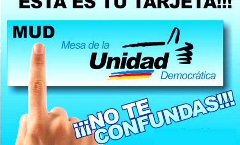 Candidaturas unitarias de oposición: entre desacuerdos y peleas por tarjeta de la MUD