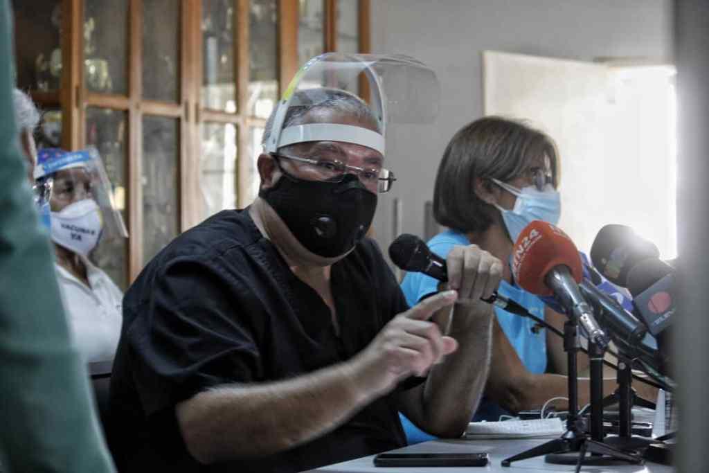Lorenzo además pidió garantizar oxígeno medicinal a todas las personas con COVID-19   Foto: Efecto Cocuyo