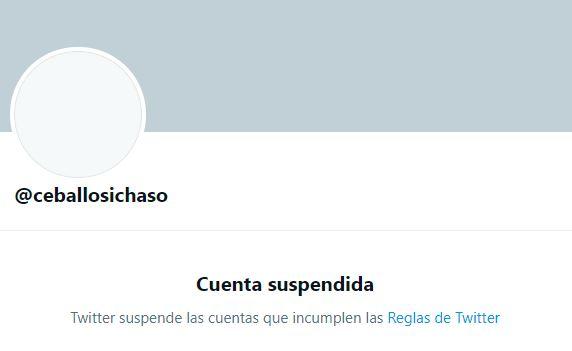 Twitter suspende cuenta de Remigio Ceballos este #9Jun - Efecto Cocuyo
