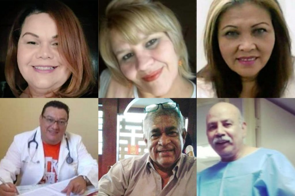 Fallecen 11 trabajadores de salud por COVID-19 en los primeros 15 días de julio