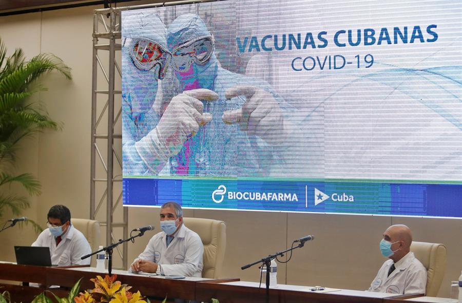 Cuba aprueba uso de emergencia de su vacuna Abdala