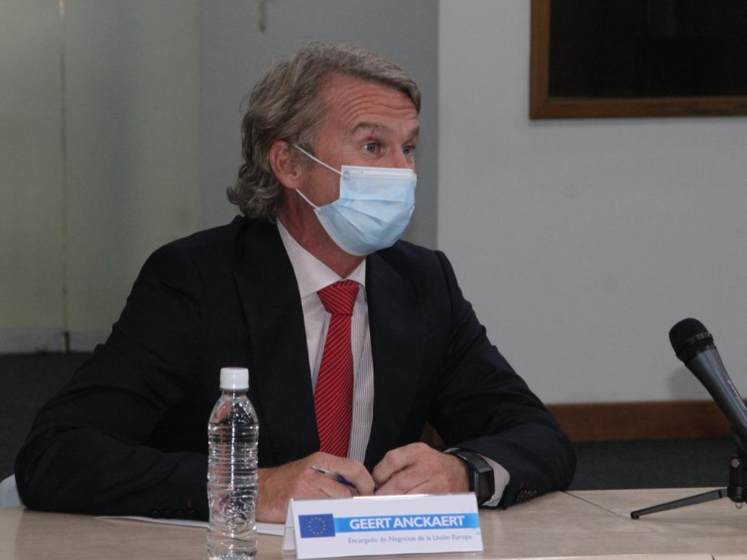 """Misión técnica de la UE """"afina un memorándum de entendimiento"""", informa rector Picón"""
