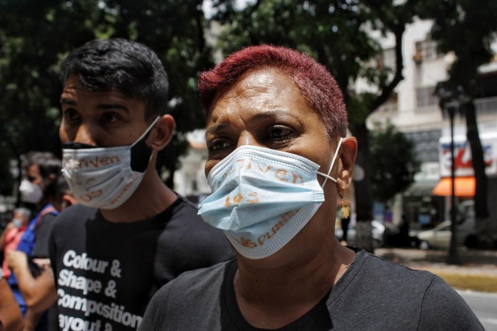 Madres piden a las autoridades que se pongan las manos en el corazón   Foto: Efecto Cocuyo