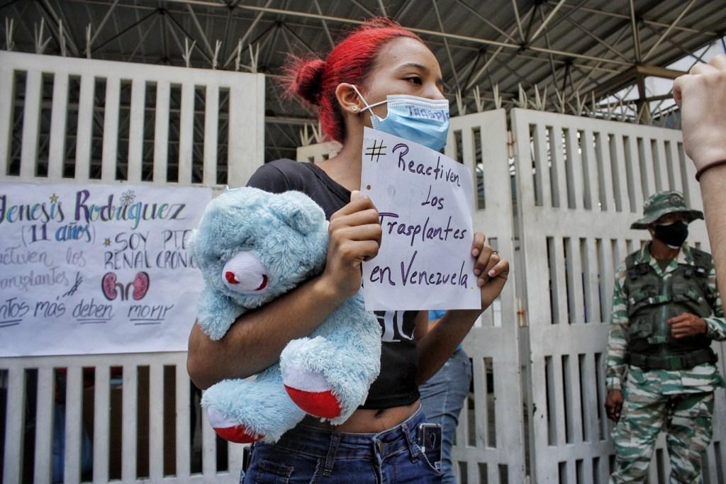 Por Jeannys, Gineth quiere calidad de vida para los niños que quedan en el JM de los Ríos    Foto: Efecto Cocuyo