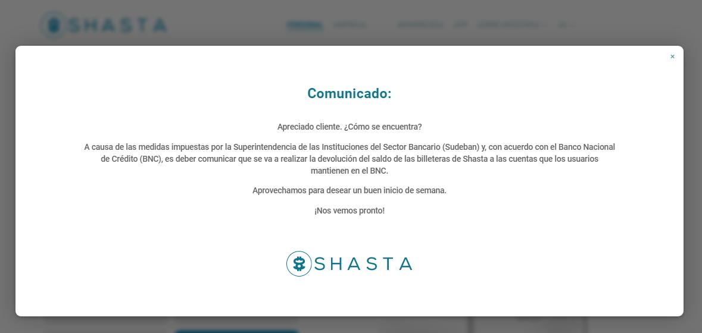 Shasta App