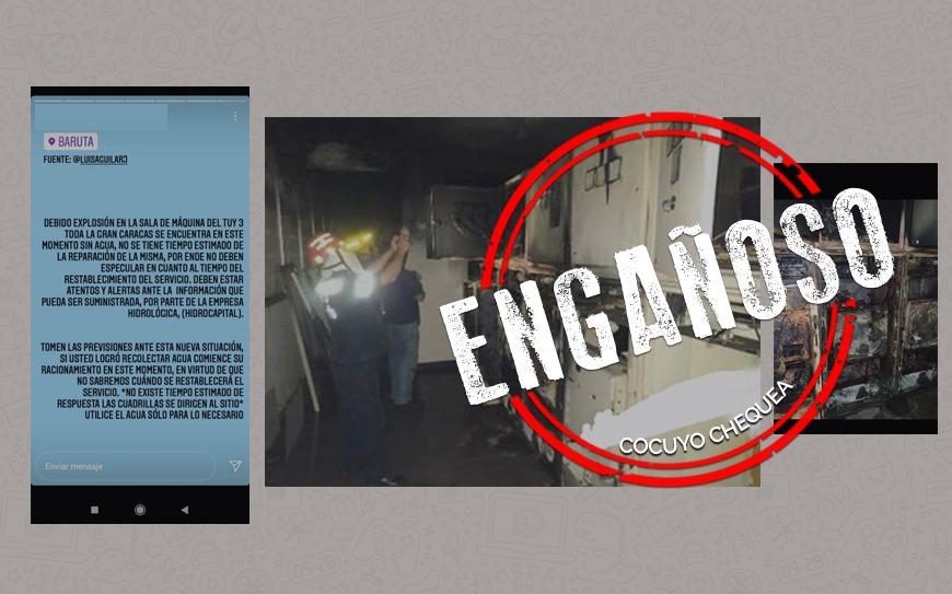 ¿Explotó la sala de máquinas del sistema Tuy III el #2Ago?