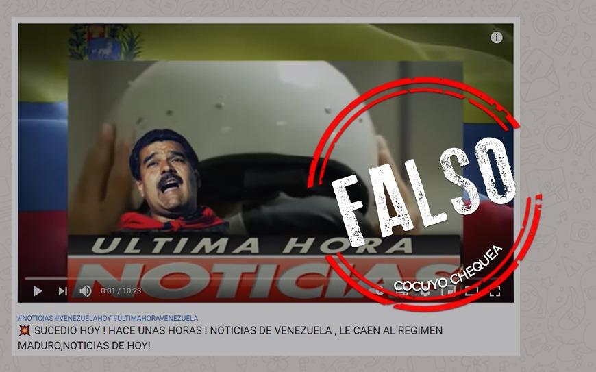 ¿Maduro se fue de Miraflores y Biden ordenó una intervención en Venezuela?