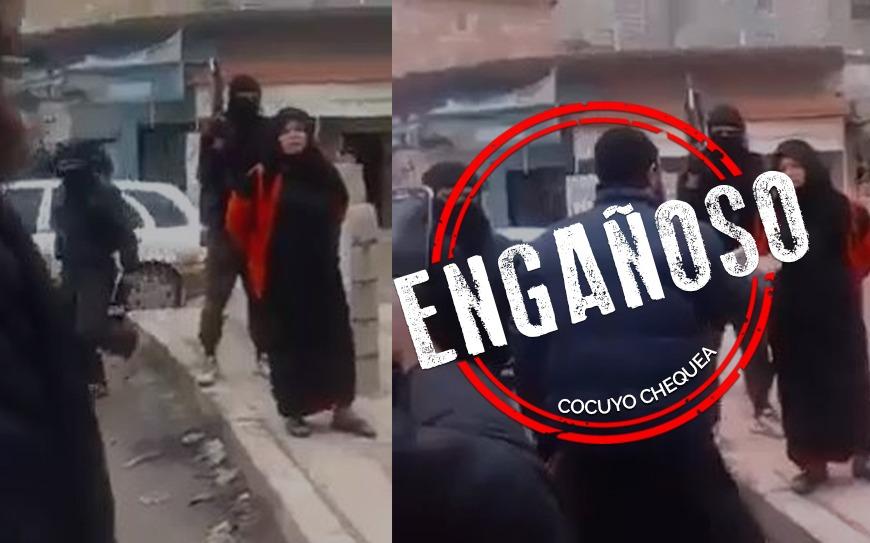¿Video que muestra una ejecución pública de una mujer se grabó en Afganistán?