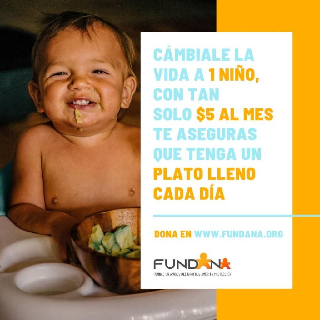 Fundana lanza campaña para disminuir la desnutrición infantil