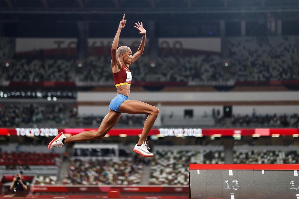 Yulimar Rojas efe triple salto