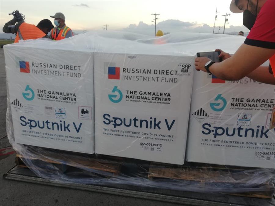 En agosto Honduras recibió 20.000 segundas dosis de Sputnik V   Foto; EFE