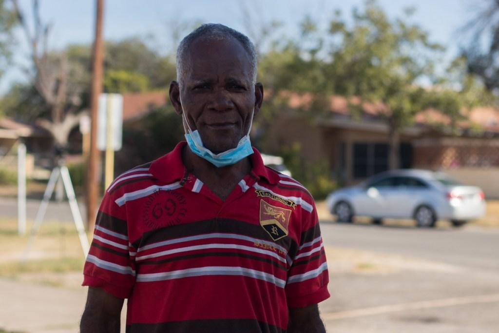 Migrantes haitianos del rio texas