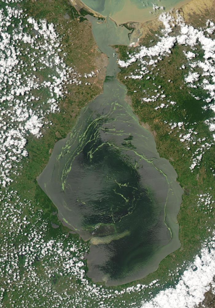 En el año 2004 se conocieron las primeras imágenes de la contaminación del Lago de Maracaibo